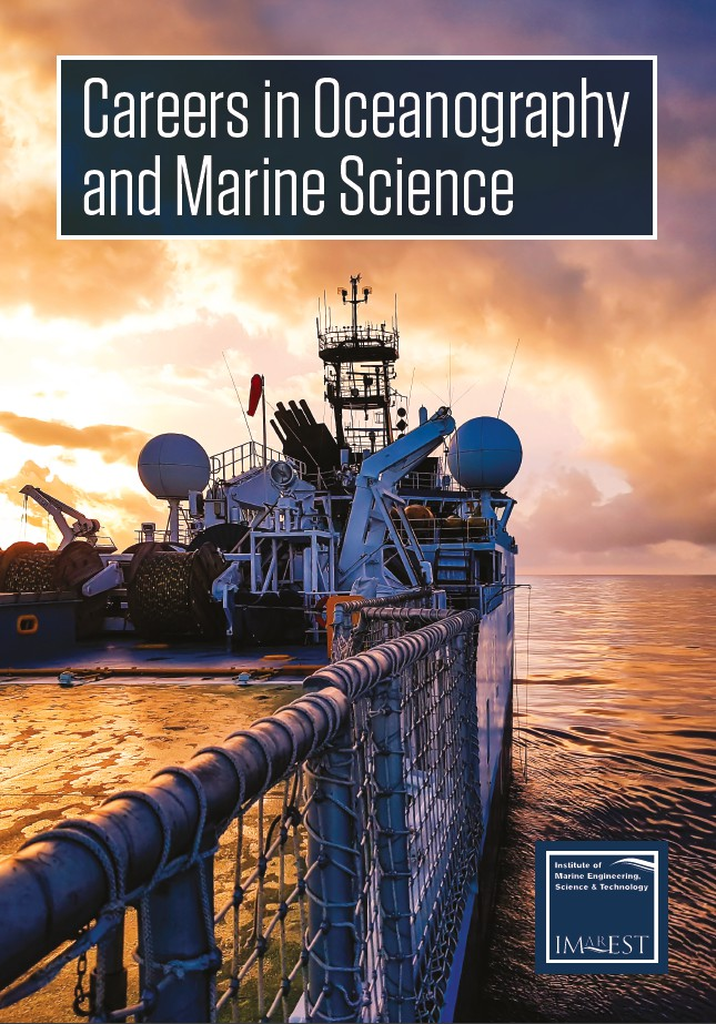 Careers in Oceanography and Marine Science Cover