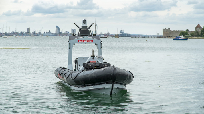 P24 Unmanned in new branding for the Royal Navy