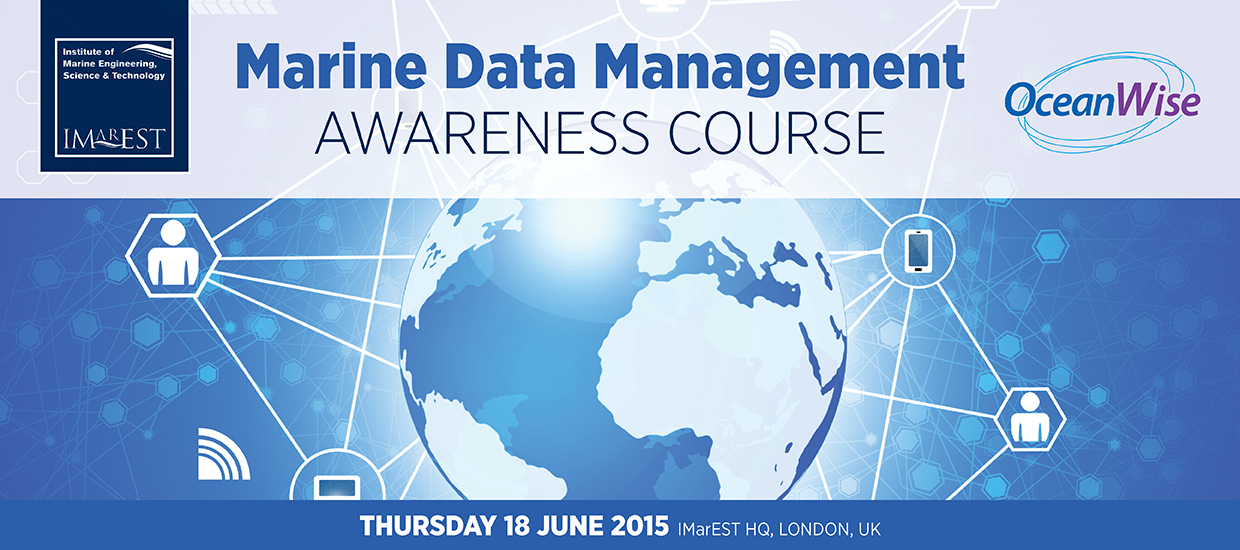 Marine Data Management Awareness Course 2015