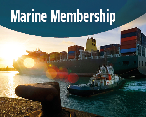 Marine Membership: for all companies and organisations