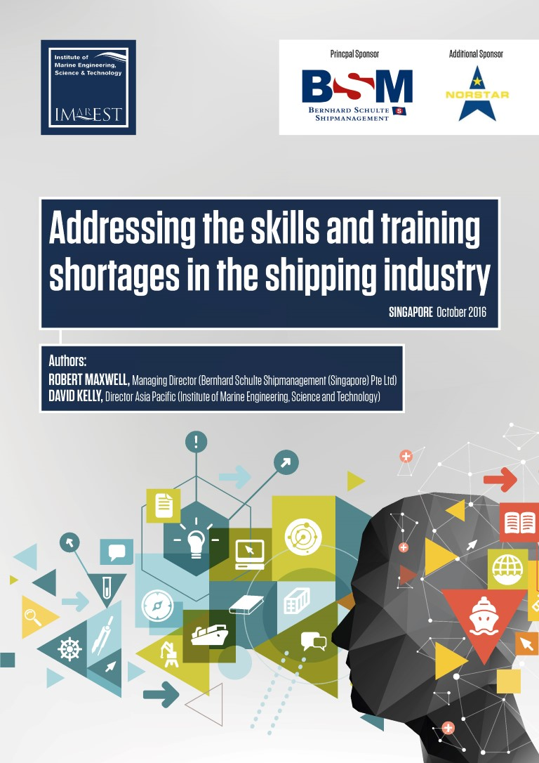 Addressing the skills and training shortages in the shipping industry