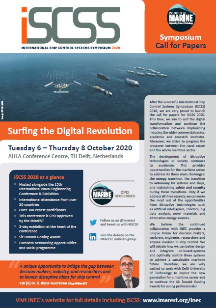 iSCSS 2020 - Surfing the digital transformation