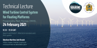 WEBINAR: Wind Turbine Control System for Floating Platforms
