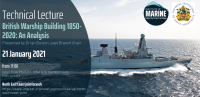 WEBINAR: British Warship Building 1850-2020: An Analysis
