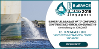 Bunker Fuel & Ballast Water Compliance Conference & Exhibition, BuBWCE