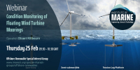 WEBINAR: Condition Monitoring of Floating Wind Turbine Moorings