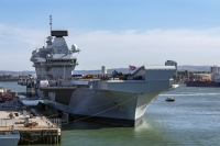 Queen Elizabeth class air craft carriers flagships for the future
