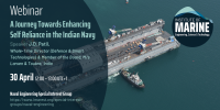 WEBINAR: A Journey Towards Enhancing Self Reliance in the Indian Navy