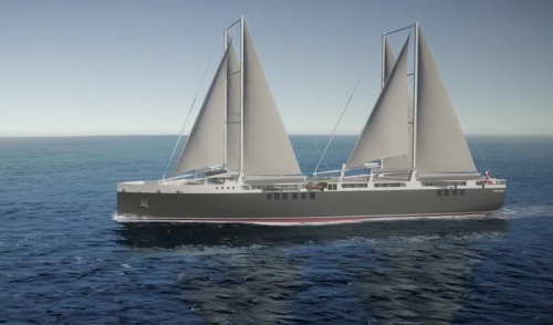 Neoline chooses partner to build its sail-powered cargo ships