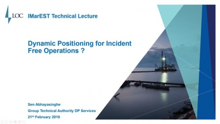 Dynamic Position Systems for Incident Free Operations?