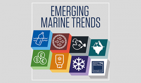 Follow us for a week of emerging trends in the marine environment - starts 04 March
