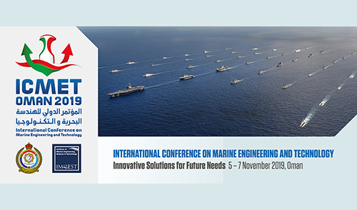 Call for Papers for inaugural marine engineering and technology conference – ICMET Oman 2019