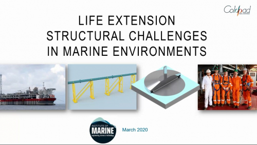 Life Extension - Structural Challenges in Marine Environments