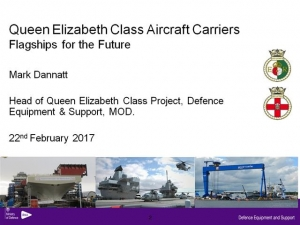 Queen Elizabeth Class Aircraft Carriers: Flagships for the Future