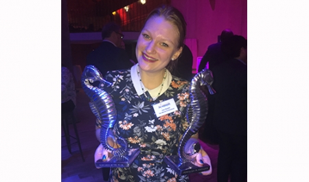 Journalist of The Marine Professional wins two Seahorse Club Awards!