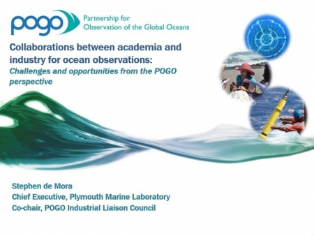 Collaborations between academia and industry for ocean observations - Challenges and opportunities from the POGO perspective