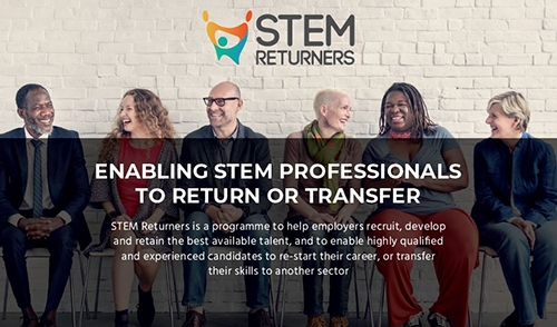 STEM Returners: creating new talent pools in STEM