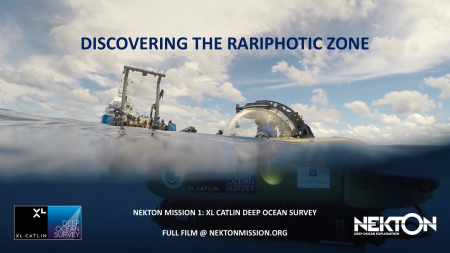Discovery of the Rariphotic Zone & Science Publications from Mission 1