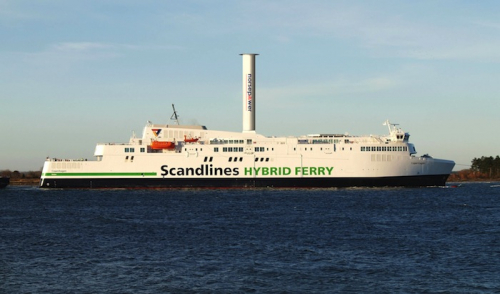 Scandlines to install Norsepower Rotor Sail on hybrid ferry