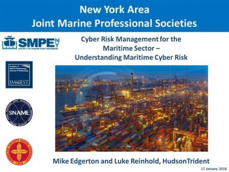 Cyber Risk Management for the Maritime Sector – Understanding Maritime Cyber Risk