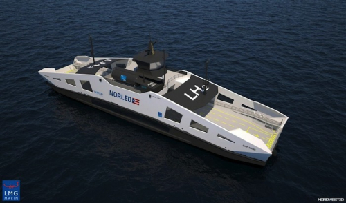 Hydrogen-powered vessels to be built with new EU funding