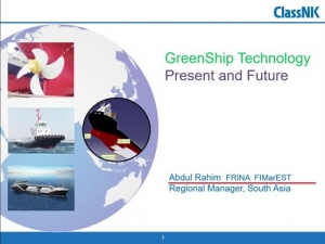 GreenShip Technology - Present and Future