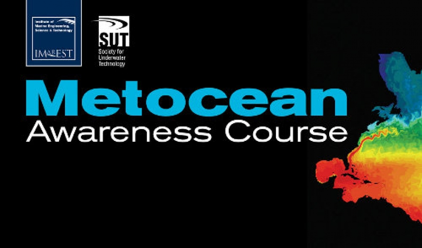 IMarEST's worldwide courses in Metocean awareness confirmed in London