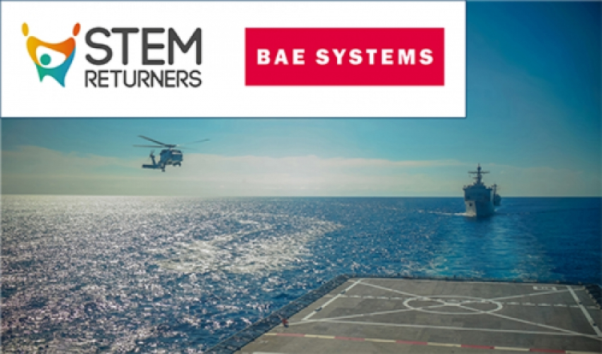 STEM Returners partners with BAE Systems