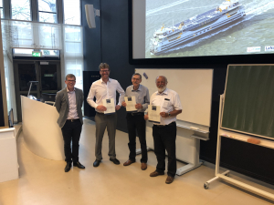 "TESO ferry ""Texelstroom"" voted best lecture of 2017-2018"