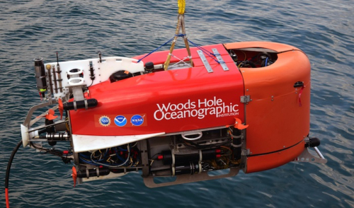 AI robot takes first automated sample from ocean floor
