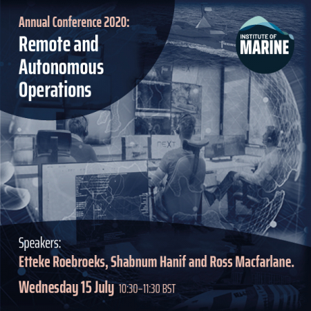 Annual Conference 2020 - Remote and Autonomous Operations
