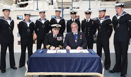 IMarEST and HMS SULTAN work together to support trainees