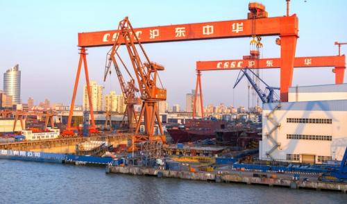 Beijing gives merger go-ahead to China's two largest shipyards