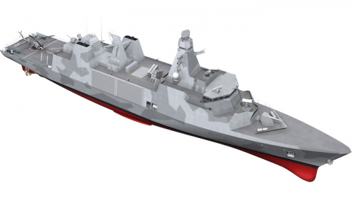 Arrowhead 140 design chosen for Type 31 frigate programme
