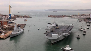 """Digging back into the future – preparing Portsmouth Naval Base for the arrival of HMS QUEEN ELIZABETH"""