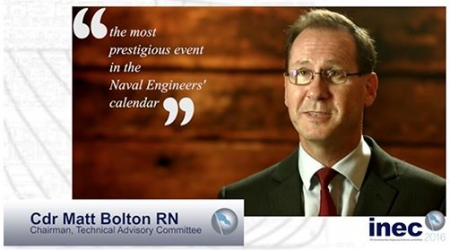 Video launch for 13th International Naval Engineering Conference and Exhibition