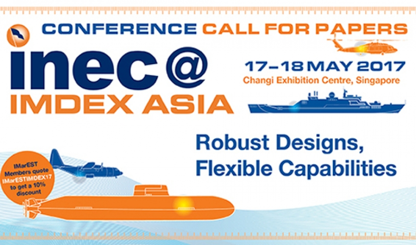 Call for papers: INEC@IMDEX Asia