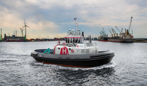Port of Antwerp orders world's first hydrogen-powered tug