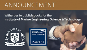 Witherbys to publish books for the Institute of Marine Engineering, Science & Technology