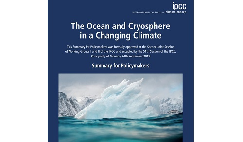 Future of ocean and cryosphere depends on critical choices being made now says IPCC special report