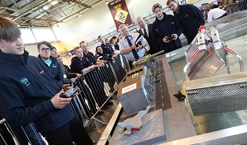 IMarEST supports successful Royal Navy Engineering Challenge 2018