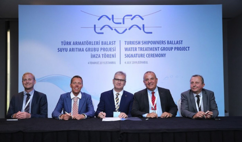 Turkish ballast water group chooses Alfa Laval PureBallast 3 for its fleet