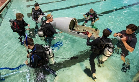 Qualifying teams announced for human-powered submarine races (eISR 2018)
