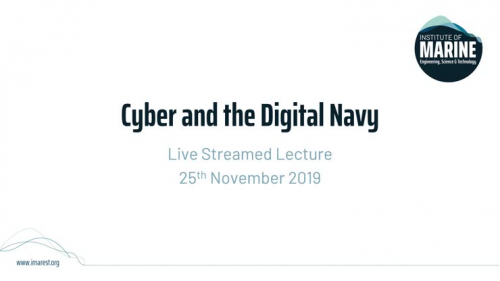 Webinar: Cyber and the Digital Navy