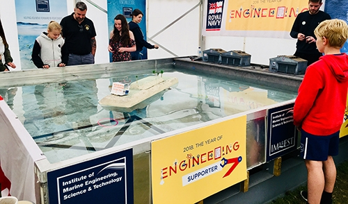IMarEST hosts activities at HMS Sultan Summer Show