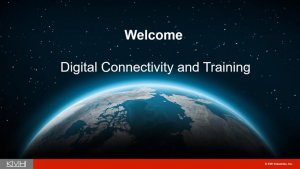 Digital Connectivity and Training