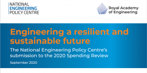 Engineers say spending must support innovation to improve resilience and cut carbon emissions