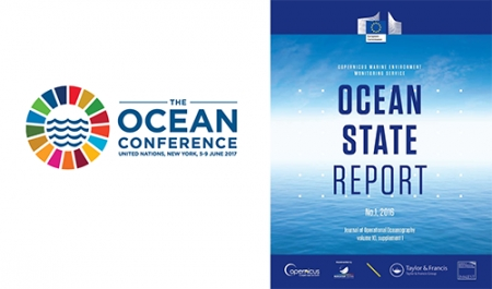 Copernicus Ocean State Report, published in IMarEST's Journal of Operational Oceanography, to be highlighted at UN Oceans Conference side event