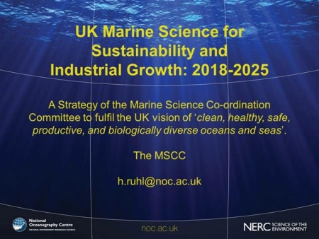 UK Marine Science for Sustainability and Industrial Growth: 2018-2025