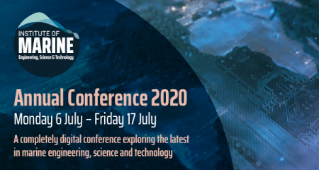 Full stream ahead for the second week of the digital IMarEST Annual Conference 2020